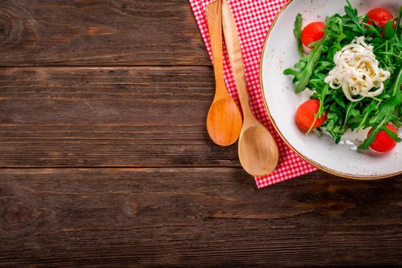 Plato de ensalada