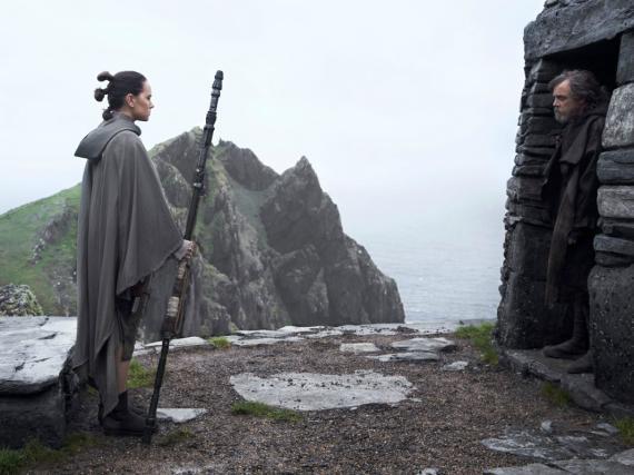 El escondite de Luke Skywalker en 'El despertar de la fuerza' y 'Los últimos Jedi' se grabó en la isla de Skelling, en Irlanda.