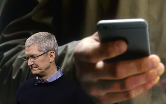 Tim Cook, director general de Apple.