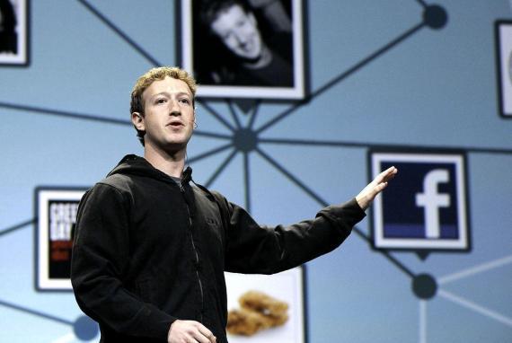 Mark Zuckerber, cofundador y CEO de Facebook.