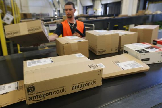 Amazon paquetes