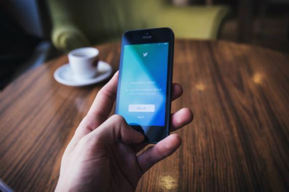 La aplicación móvil de Twitter
