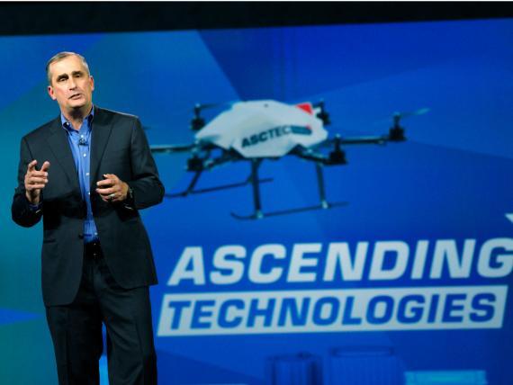 El CEO de Intel, Brian Krzanich