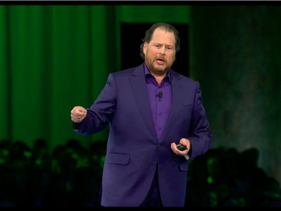 El consejero delegado de Salesforce, Marc Benioff