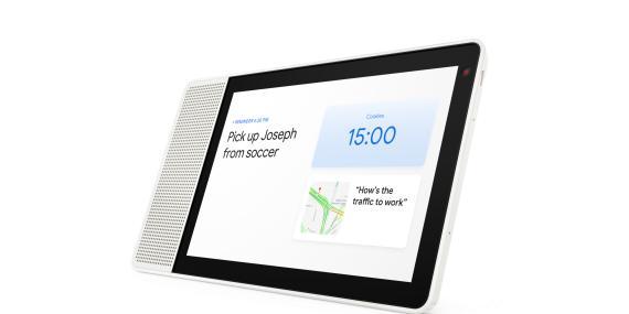 La Smart Display de Lenovo, que se lanzará en verano, será una de las primeras pantallas inteligentes con el asistente de Google. El modelo de ocho pulgadas costará 199 dólares.