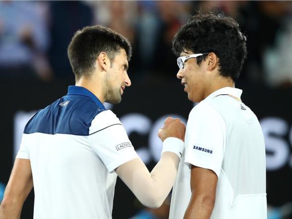 Chung Kyeon ha eliminado a Djokovic del Open de Australia
