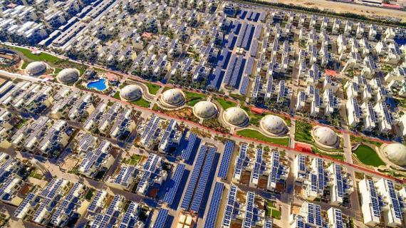 Dubái (Emiratos Árabes Unidos) construye una ciudad sostenible.