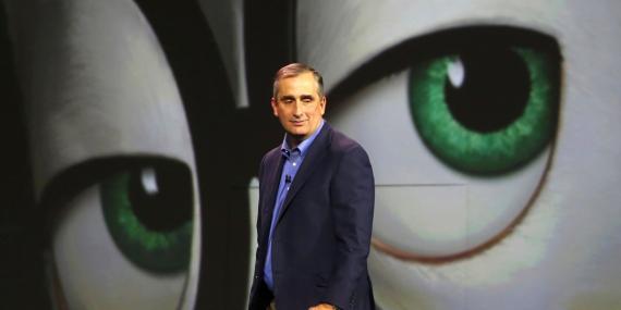 Brian Krzanich, CEO de Intel.