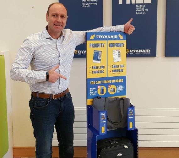 Kenny Jacobs, de Ryanair.