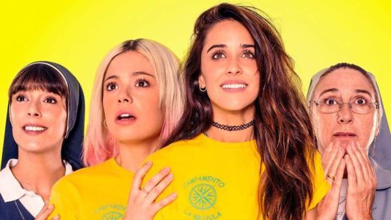 Las actrices de la película 'La Llamada', nominada al Goya y disponible en Netflix el 29 de enero.