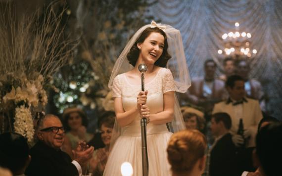 The Marvelous Mrs. Maisel, la serie de Amazon protagonizada por Rachel Brosnahan.