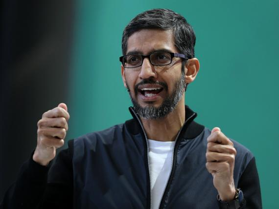 El CEO de Google, Sundar Pichai