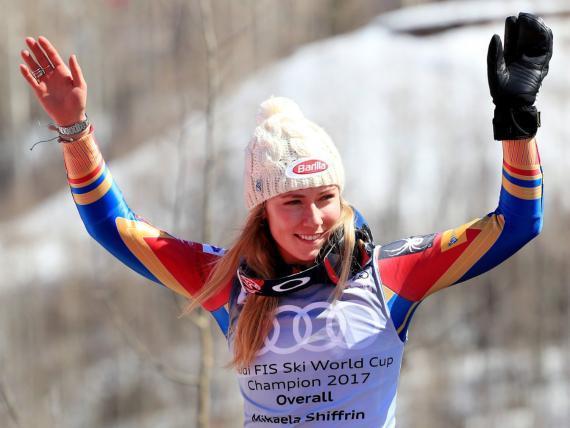 Mikaela Shiffrin consume 3.000 calorías diarias como parte de su entrenamiento para los Juegos de Corea del Sur.