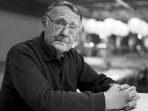 El fundador de Ikea, Ingvar Kamprad.