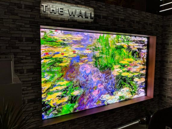 SAMSUNG-The Wall CES 2018