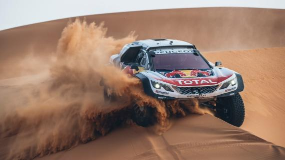 Sebastien Loeb correrá el Dakar 2018 con Peugeot