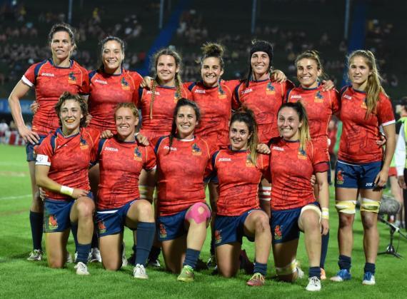 Selección femenina Rugby seven