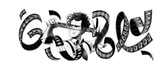 Sergei Eisenstein en el Doodle que le dedica Google.