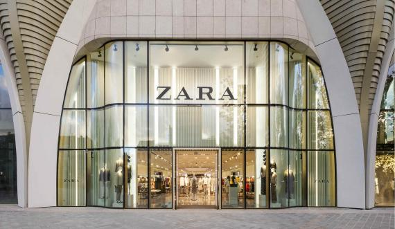 Una tienda de Zara en Bruselas.