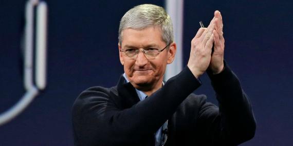 El director ejecutivo de Apple, Tim Cook.