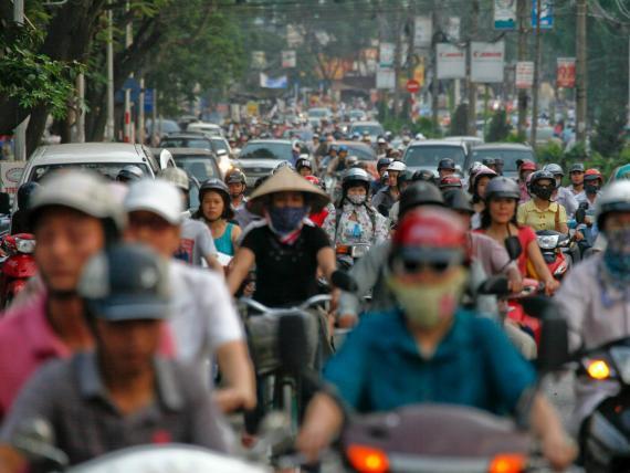 Las ciudades con peor tráfico del mundo