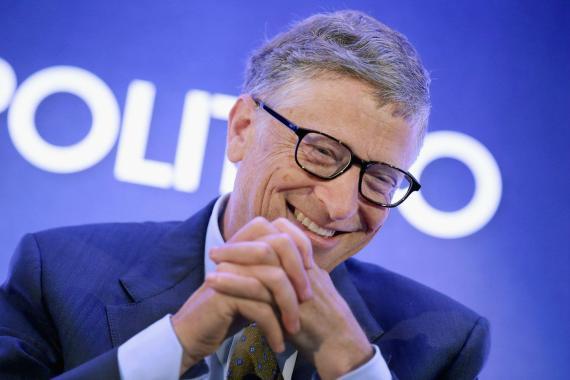 El cofundador de Microsoft, Bill Gates, habla durante un evento en Washington (EE. UU.) en 2014.