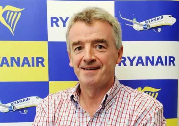 El consejero delegado de Ryanair, Michael O'Leary.