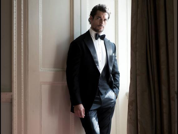 El supermodelo David Gandy es uno de los clientes de Henry Poole.