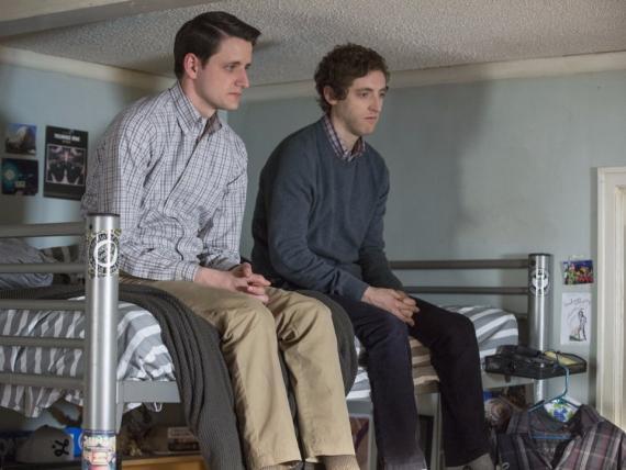 Dos tristes trabajadores de tecnología en Silicon Valley