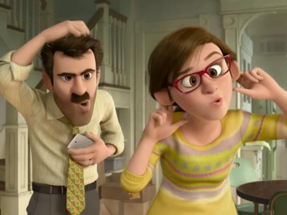 Escena de una película de Disney.