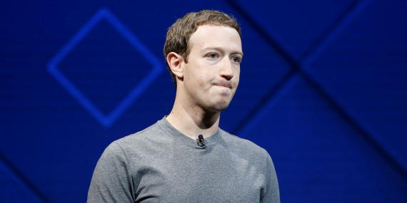 El cofundador y director ejecutivo de Facebook, Mark Zuckerberg