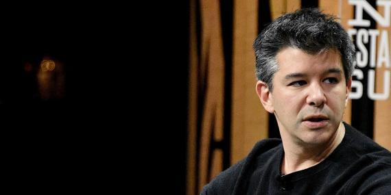 El anterior CEO y fundador de Uber, Travis Kalanick.
