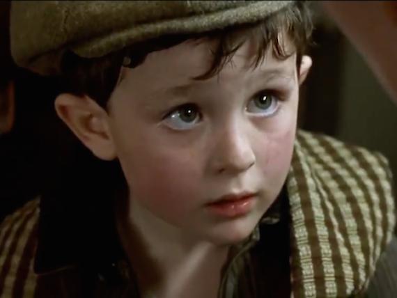 Reece Thompson tenía cinco años cuando se rodó Titanic.