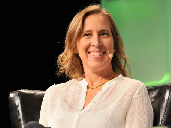 La CEO de YouTube, Susan Wojcicki.