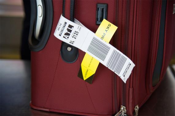 Air Delta Etiqueta Maleta