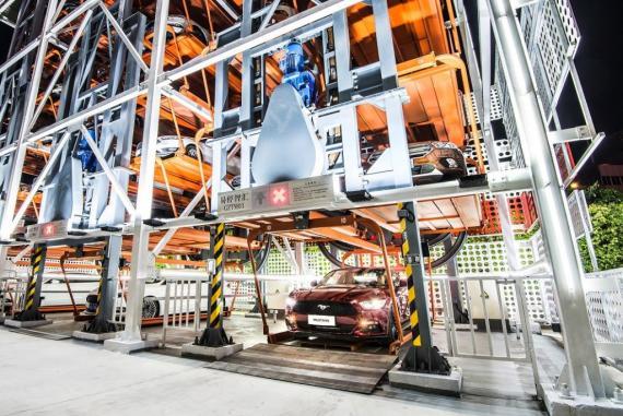 Alibaba maquina expendedora coches