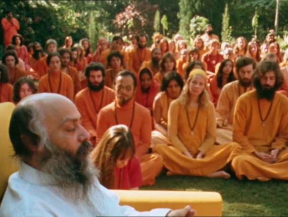 Bhagwan Shree Rajneesh y sus seguidores