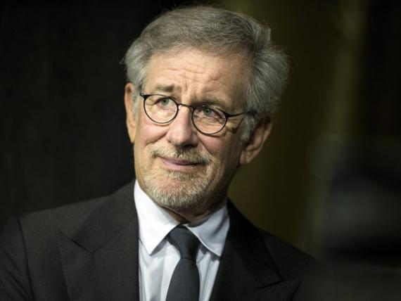 El director de cine estadounidense Steven Spielberg