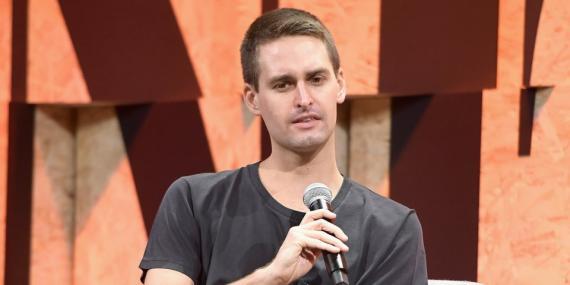 Evan Spiegel, fundador de Snapchat