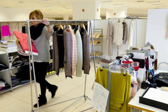 Una imagen de las oficinas centrales de Inditex en Arteixo (A Coruña) donde se diseñan las prendas y se desarrolla la estrategia del grupo.
