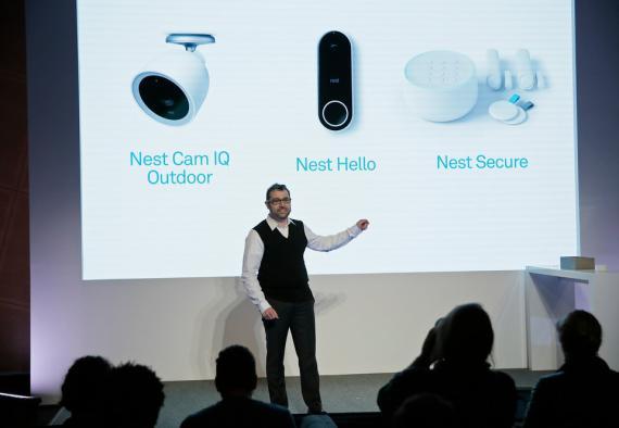 El cofundador de Nest, Matt Rogers, presenta los nuevos dispositivos para el hogar