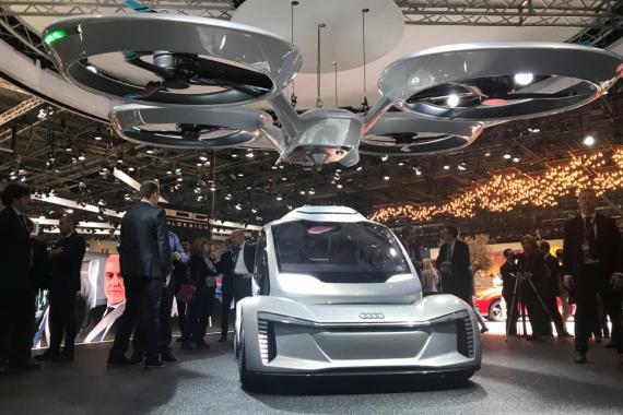 Salón de Ginebra 2018 airbus pop up next
