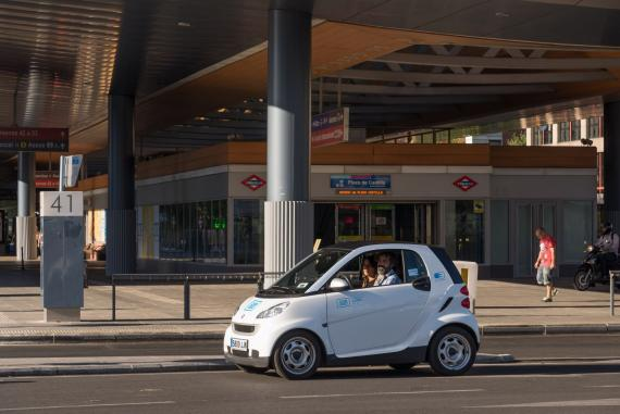 Smart Fortwo Electric Drive car2go