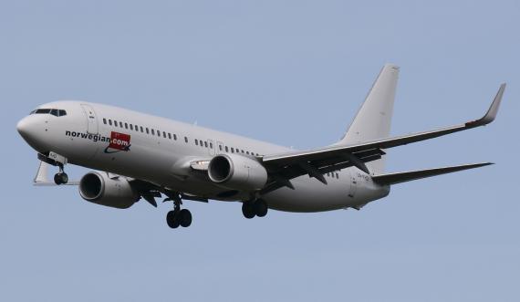 Un avión de Norwegian Airlines