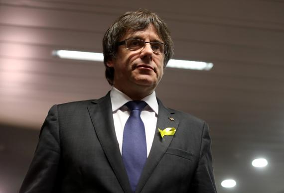 Carles Puigdemont Getty