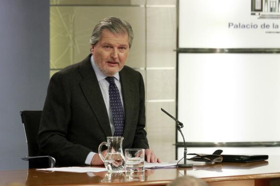 Iñigo Méndez de Vigo, tras un Consejo de Ministros
