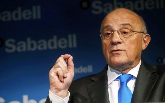 Josep Oliu Creus, presidente de Banco Sabadell