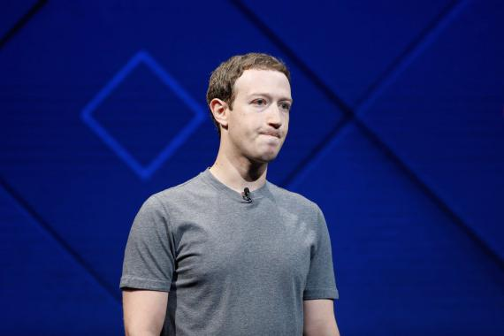 CEO deFacebook, Mark Zuckerberg
