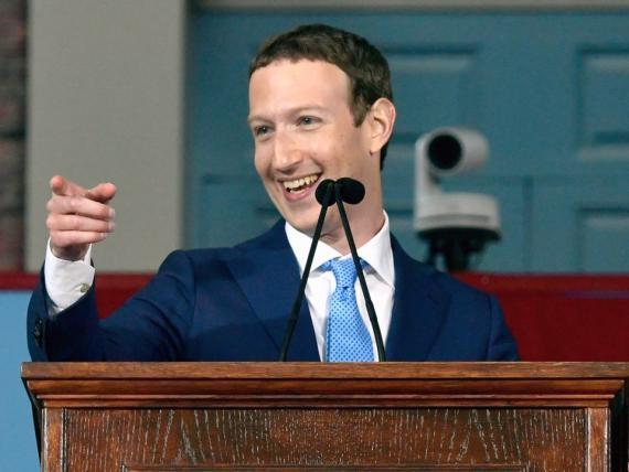 El fundador de Facebook, Mark Zuckerberg, se hizo multimillionario a los 4 años de fundar la compañía