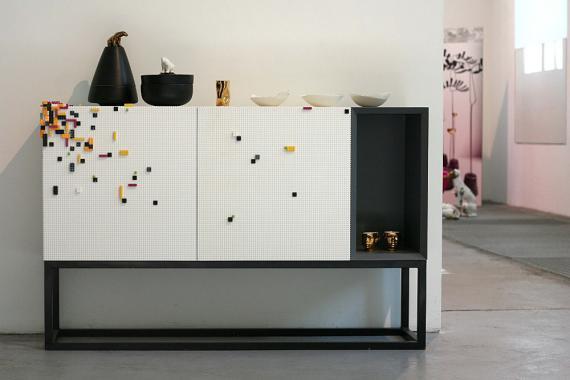 Mueble de la colección Stüda, diseñado por NINE